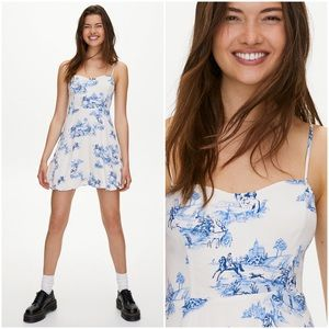 Sunday Best Flirt Mini Dress Toile Aritzia Size 4